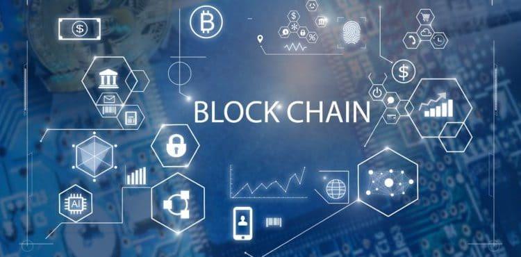 Block Chain concept.